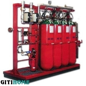 AUTOMATIC GAS FIRE EXTINGUISHING SYSTEM