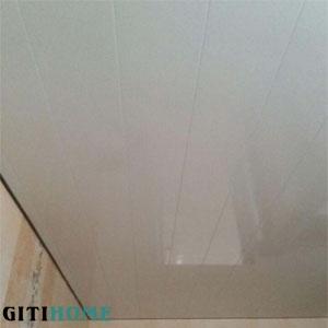 سقف کاذب سفید براق پی وی سی